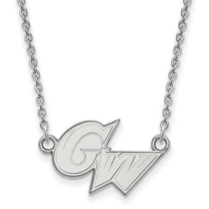 Picture of The George Washington University Colonials Sterling Silver Small Necklace