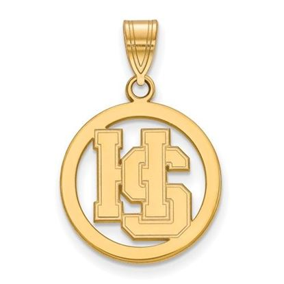 Picture of Hampden-Sydney College Tigers Gold Plated Small Pendant