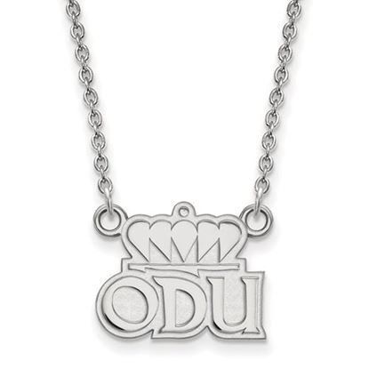 Picture of Old Dominion University Monarchs Sterling Silver Small Necklace