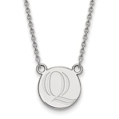 Picture of Quinnipiac University Bobcats Sterling Silver Small Necklace