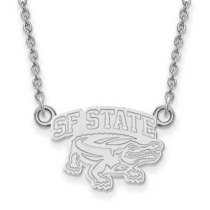 Picture of San Francisco State University Gators Sterling Silver Small Necklace