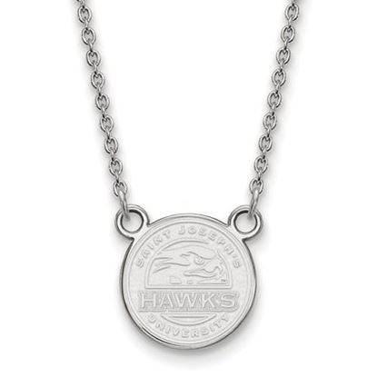 Picture of St. Joseph's University Hawks Sterling Silver Small Necklace