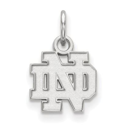 Picture of University of Notre Dame Fighting Irish Sterling Silver Extra Small Pendant