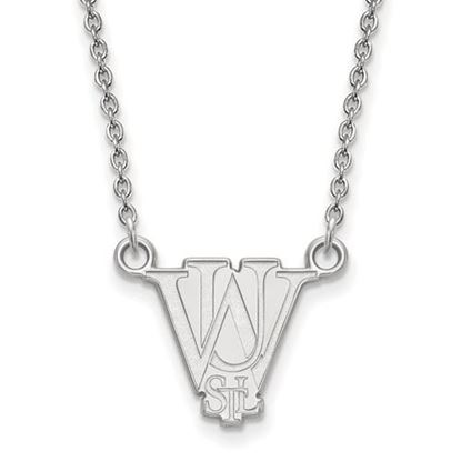 Picture of Washington University St. Louis Bears Sterling Silver Small Necklace