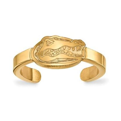 Florida Gators Gold Plated Toe Ring
