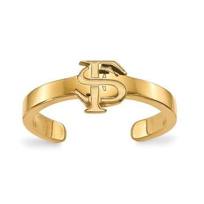 Florida State Seminoles Gold Plated Toe Ring