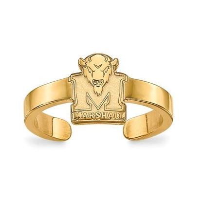 Marshall University Gold Plated Toe Ring