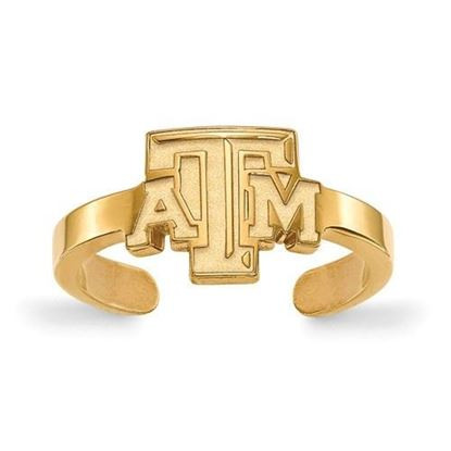 Texas A&M Aggies Gold Plated Toe Ring